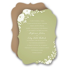 Sweet Dreams David Tutera Wedding Invitation