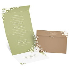 Sweet Dreams Seal and Send David Tutera Wedding Invitation