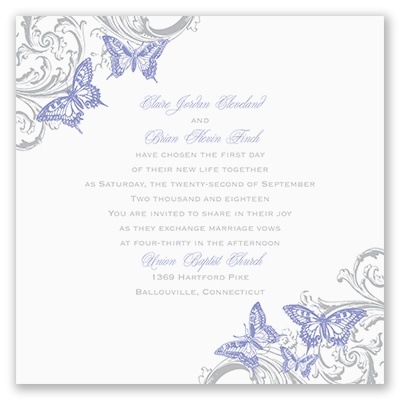 takes flight wedding invitation david tutera at invitations by dawn