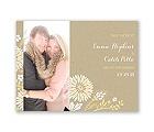 Prairie Floral - Save the Date Card