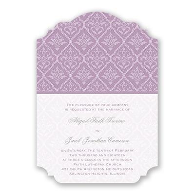 romance wedding invitation david tutera at invitations by dawn