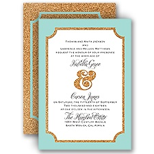 Corkboard Frame - Invitation