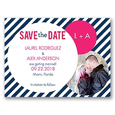 Crazy Love - Save the Date Card
