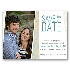 Marble Musings - Save the Date Card