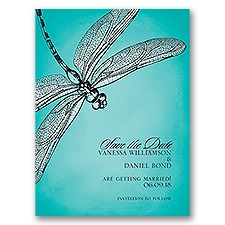 Dragonfly Dream - Save the Date Card