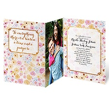 Flower Patch Wedding Invitation