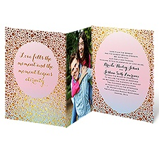 Eternal Shine Wedding Invitation
