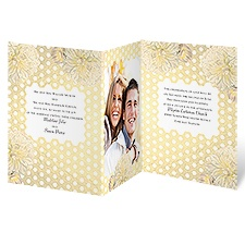 Sweet Honeycomb Wedding Invitation