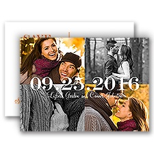 My Whole World Photo Save the Date