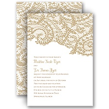 Ornate Lace - Invitation