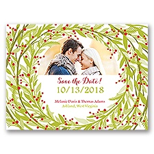 Embrace the Season - Holiday Card Save the Date