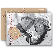Bakers Twine Holiday Postcard Save the Date