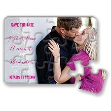 Complete Me Modern Save the Date Puzzle