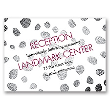 Spotted Details - Reception Card