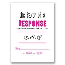Modern Style - Response Card