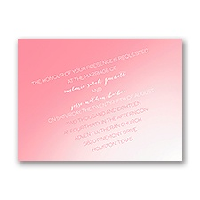 Sunrise Petite Wedding Invitation