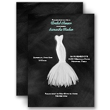 Wedding Fashion - Bridal Shower Invitation