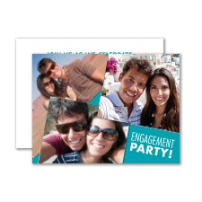 Big Smiles - Petite Engagement Party Invitation