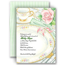 Sheer Elegance - Bridal Shower Invitation