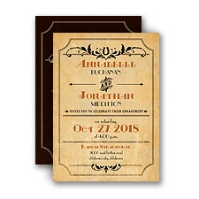 Lucky Horseshoe - Petite Engagement Party Invitation