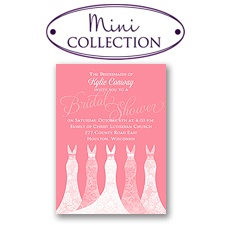 Simply Gorgeous - Mini Bridal Shower Invitation