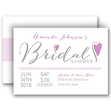 All Heart - Bridal Shower Invitation