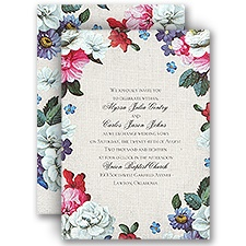 Floral Dream Wedding Invitation
