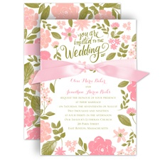 In the Garden Wedding Invitation