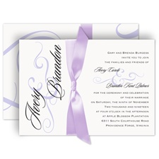 Modern Beauty Wedding Invitation