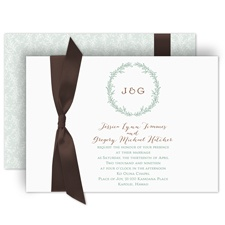 Simply Natural Wedding Invitation