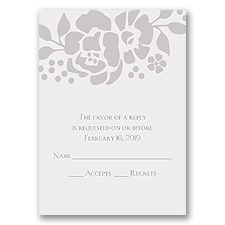 Floral Extravagance - Response Card