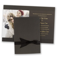 Truly Distinguished Wedding Invitation