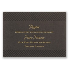 Truly Distinguished - Reception Card