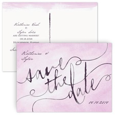 Watercolor Wonder Save the Date