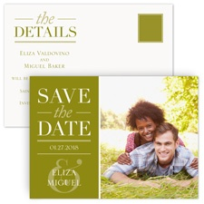 Big Plans Save the Date