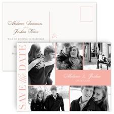 Photo Faves Modern Save the Date