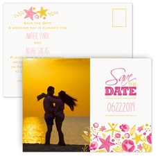 Beach Love Save the Date