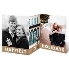 Pine Tree Greeting - Holiday Card Save the Date