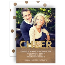Lots of Cheer - Holiday Card Save the Date