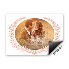 Love and Grow Save the Date Magnet