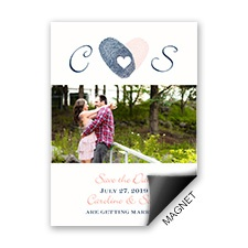 Thumbs Up Photo Save the Date Magnet