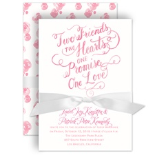 One Promise Wedding Invitation