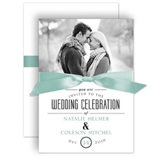 A Wedding Celebration Wedding Invitation