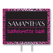 Disney - Wild Style Bachelorette Yard Sign - Miss Piggy