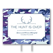 Hunter's Choice - Navy - Yard Sign