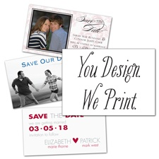 You Design, We Print 3 1/2