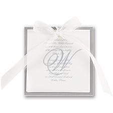 Pretty Layers Wedding Invitation