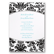 High Style Wedding Invitation