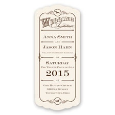 Western Wonder Wedding Invitation