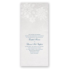 Winter's Kisses Wedding Invitation